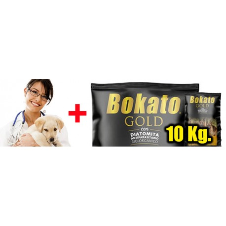 Plan Salud Integral + Alimento BOKATO 10 Kilos