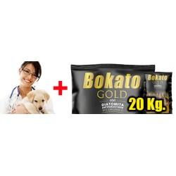 Plan Salud Integral + Alimento BOKATO 20 Kilos